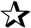 double 3d sharp shadow stars freetoedit