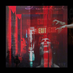 exit showme trapped emotions symbolism freetoedit