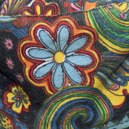 colourful daisy hat freetoedit