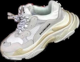 balenciaga white whitebalenciagas shoes whiteshoes freetoedit