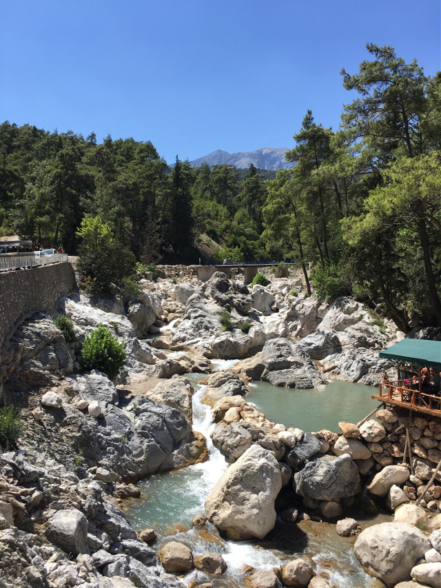 #photography #mountains #river #nature #turkey #kemer #freetoedit
