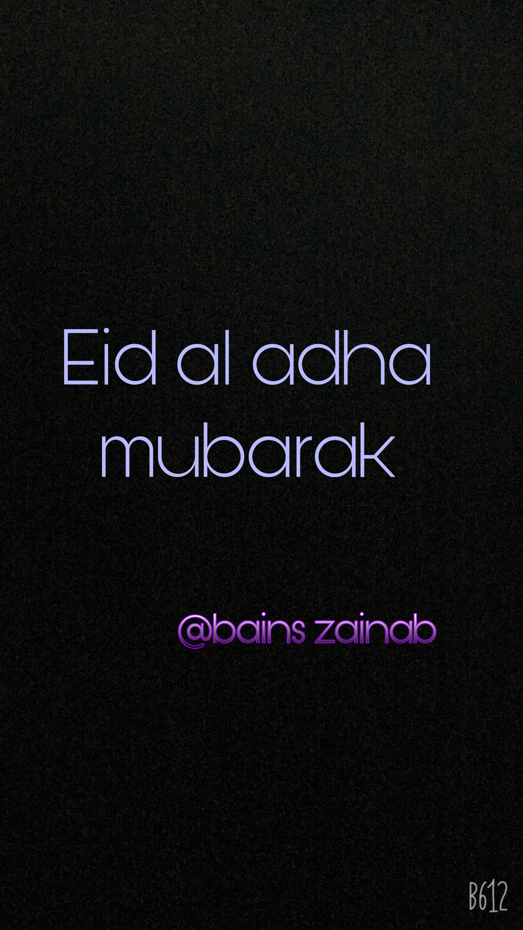 Eid Mubarak Al Adha Image By Zainab