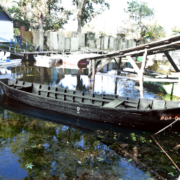 oldboatstation neglected river travel photography