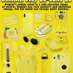 niche yellow zodiac zodiaccolor zodiaccircle freetoedit