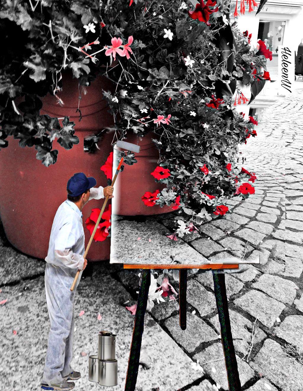 #surreal #surrealism #painter #flowers #streetart #madewithpicsart #myedit #myart #mystyle #cityart #interesting #colored #fantasy #imagination #freetoedit