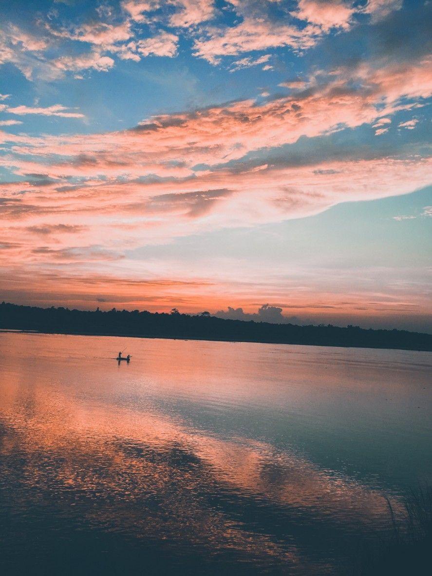 #bangladesh #nature #river #beautifulbirthmarks #pictureoftheday #boat#