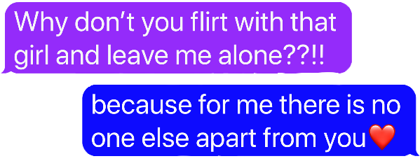 flirt boyfriend girlfriend message text freetoedit