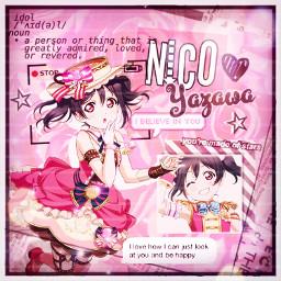 freetoedit yazawanico nicoyazawa lovelive anime