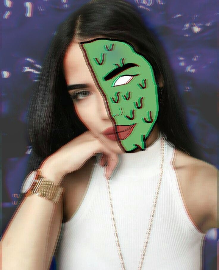 Image of the model is from Pinterest  #madewithpicsart #grimeart  #holga2effect #holga #3dbackground