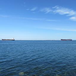 mypic bluesky water ships freetoedit