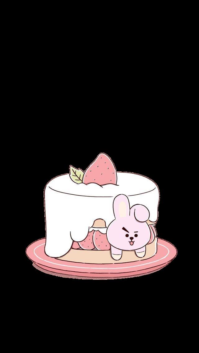 #cake #pink #cute #kwaii #white #saweetie