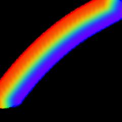 background rainbow sky freetoedit