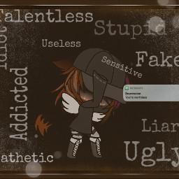 freetoedit gacha depression pathetic sad