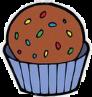 #cupcake #pastelito #chocolate #dulce #candy #postre
