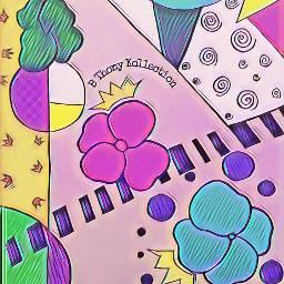 royalflower gardenflowers crownflower abstractartist artislife