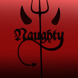 naughty devil blackred ombre freetoedit