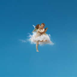 ecintheclouds intheclouds cupido angel aesthetic freetoedit