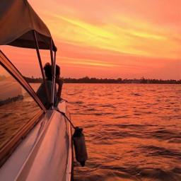 waterislife freetoedit sunset girl