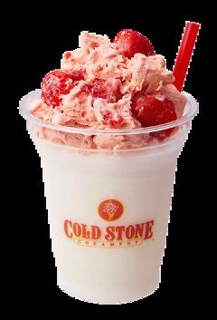 coldstone icecream milkshake strawberry strawberryicecream freetoedit