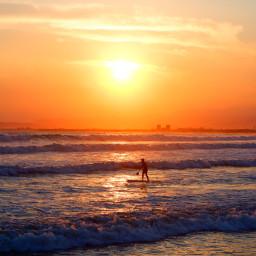 freetoedit sunset beach wave