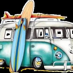 freetoedit beach caravana playa surf scsurfboard scvan van