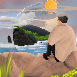 hawaii freetoedit illustration procreate