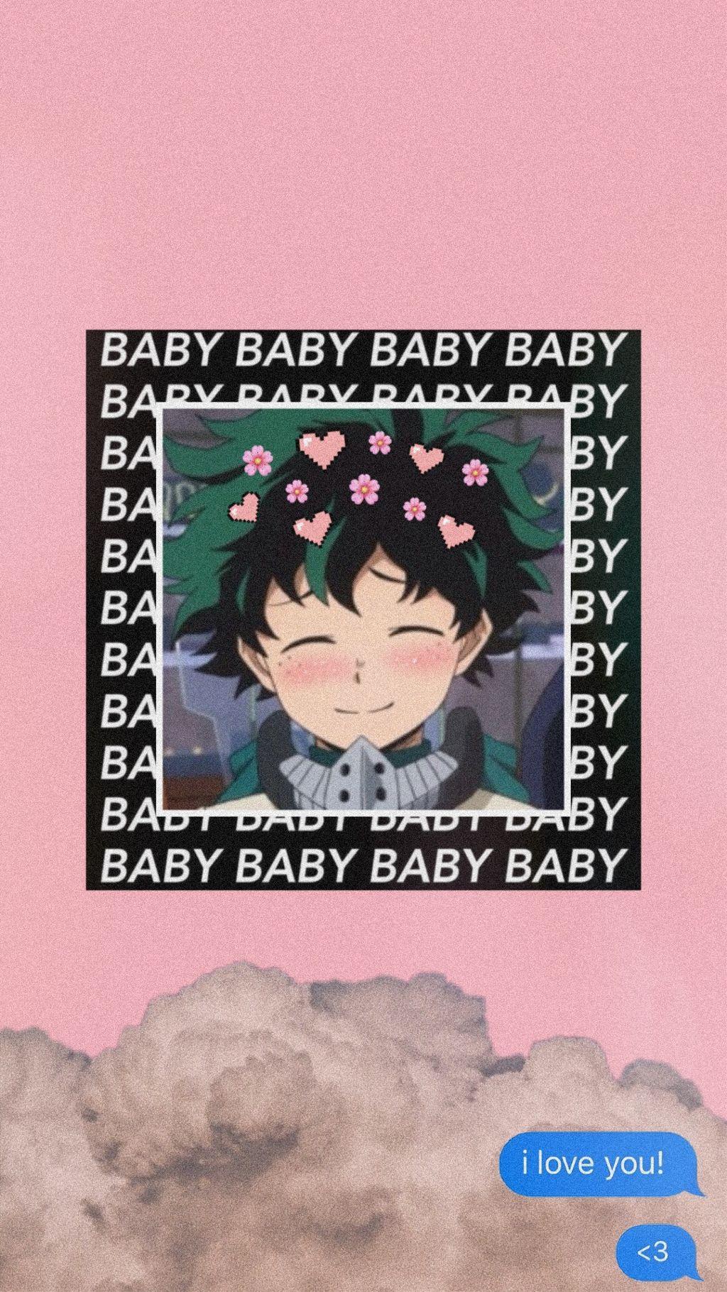 Soft Baby Deku Wallpaper Bnha Bnhaedit Midoriya Izuku