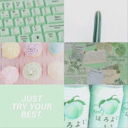 green pastel bg background freetoedit