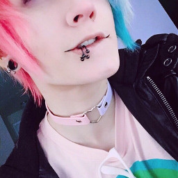 cottoncandy corpse pink pinkhair bluehair scene scenekid freetoedit