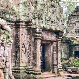 taprohm ankorwat siemreap cambodia temples freetoedit