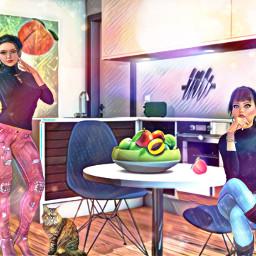 freetoedit womans cocina meeting inside ircpeachesallaround