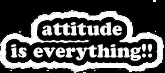 attitudeiseverything attitude is everthing thing freetoedit