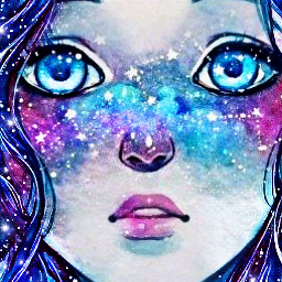 freetoedit tumblr galaxymakeup galaxy chicatumblr