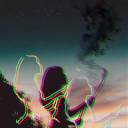 freetoedit glitterbrush glitcheffect surrealism surreal ircsummersunset