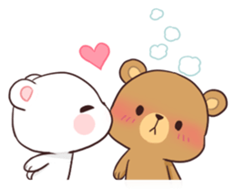 milk mocha bear cute adorable freetoedit