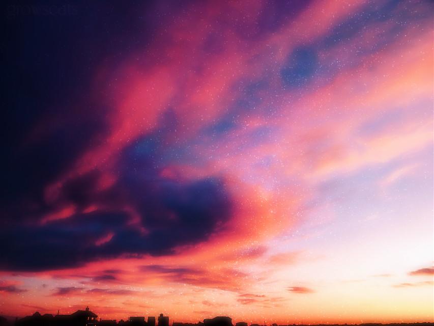 #freetoedit #picsart #remixit #sky #sunset #sunrise #sun #clouds #stars #milkyway #galaxy #color #horizon #silhouette #png #edit #photo #photoshop #eyesofbrax #moody