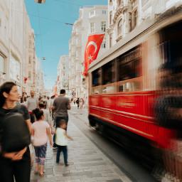 freetoedit turkey travel tram red pcmyfavshot worldphotographyday