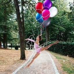 balloon gymnast park nice freetoedit