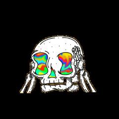 skull trip trippy freetoedit