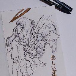 japan tokyo angel sad anime