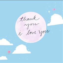 freetoedit bluetheme pink iloveyou thankyou