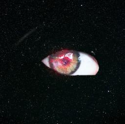 freetoedit eye stranger galaxy space