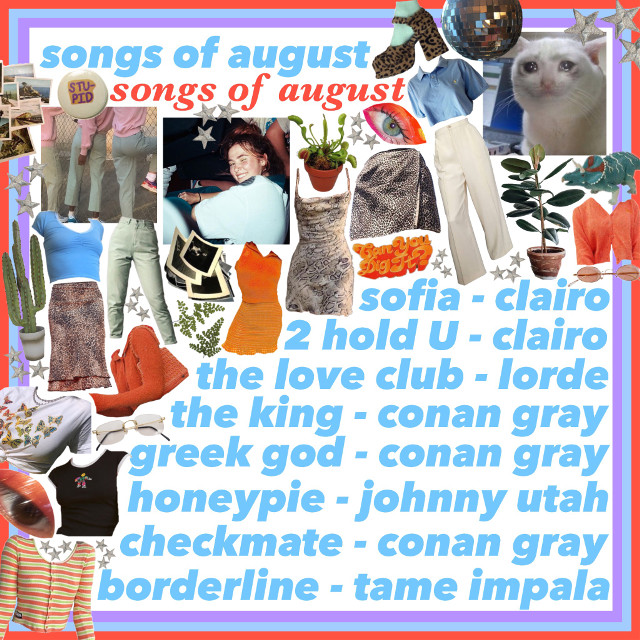 #freetoedit #songs #clairo #conangray #orange #aesthetic