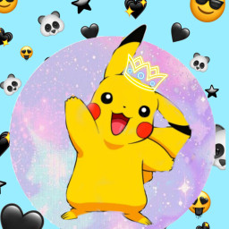freetoedit pikachu king