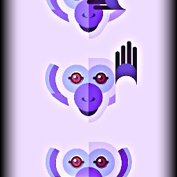 freetoedit monkey monkeys petsandanimals art