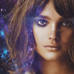 freetoedit fantasy art girl space
