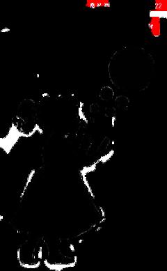 noire stickers enfant children ombre freetoedit