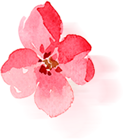 ftestickers watercolor flower reflection pink freetoedit