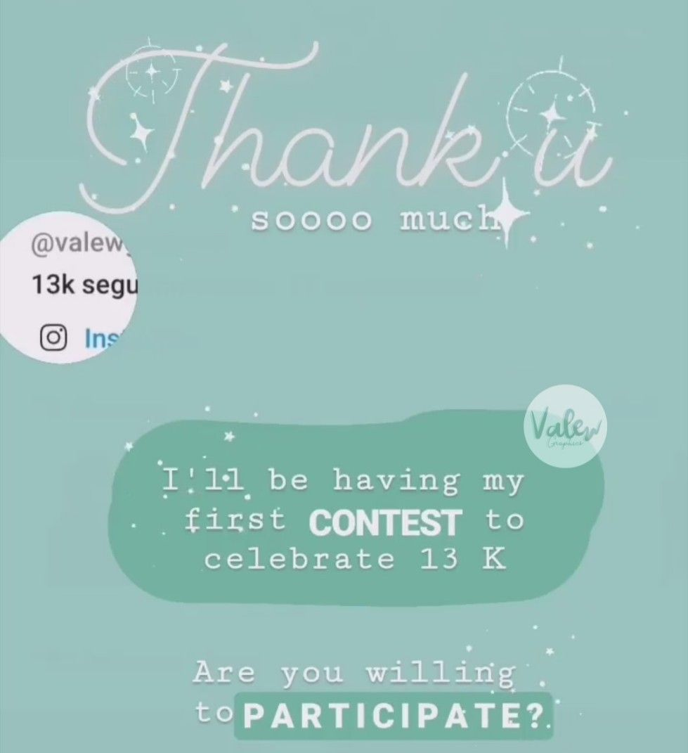 !¡ Hey Guys !¡  I just got 13 K  followers here in PicsArt and to celebrate I'm planning to create my first contest ! As I just said is my first time doing this and I don't want it to flop, so please :  COMMENT IF YOU'RE WILLING TO PARTICIPATE  ( I'm not screaming LMAO)  Thank you SO MUCH for all your love and  support, we have come a long way to get to this point !