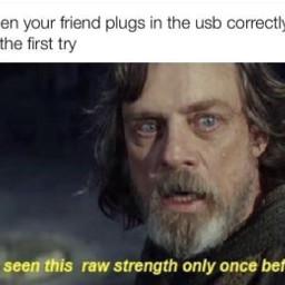 meme memes starwars lukeskywalker friend freetoedit